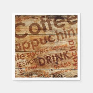 Servilletas Desechables Bebida hermosa de la cocina del café