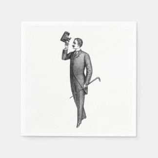 Servilletas Desechables Caballero Selfie del Victorian
