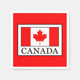 Servilletas Desechables Canadá