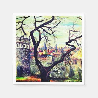 Servilletas Desechables Ciudad del bohemio de Dreamscape Luxemburgo