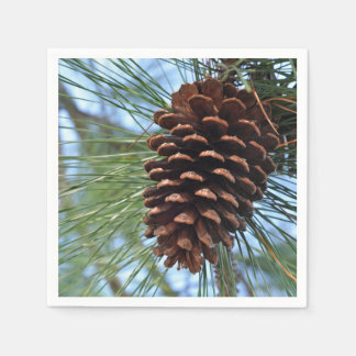 Servilletas Desechables Cono del pino