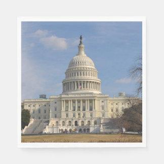 Servilletas Desechables Edificio de Capitol Hill del Washington DC