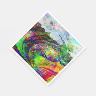 Servilletas Desechables Fantasía tropical abstracta