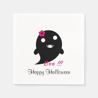 Servilletas Desechables Fantasma lindo de Halloween