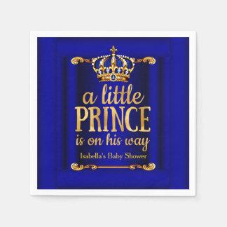 Servilletas Desechables Fiesta de bienvenida al bebé de príncipe On His