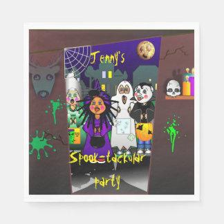 Servilletas Desechables Fiesta de encargo de Halloween del