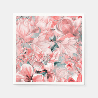 Servilletas Desechables flowers2bflowers y #flowers del modelo de los