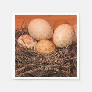 Servilletas Desechables Huevos de Pascua rústicos en jerarquía