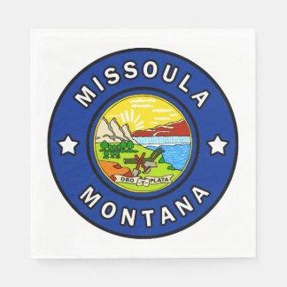 Servilletas Desechables Missoula Montana