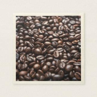 Servilletas Desechables Modelo asado de los granos de café