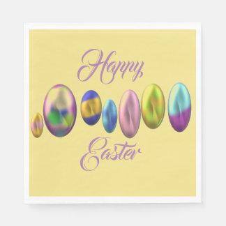 Servilletas Desechables Pascua feliz