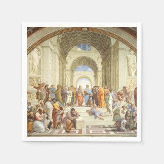 Servilletas Desechables Raphael - La escuela de Atenas 1511