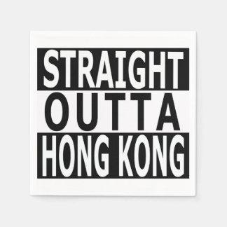 Servilletas Desechables Servilletas rectas del cóctel de Outta Hong Kong