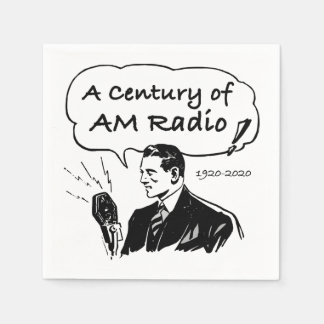 Servilletas Desechables Un siglo de radio de la