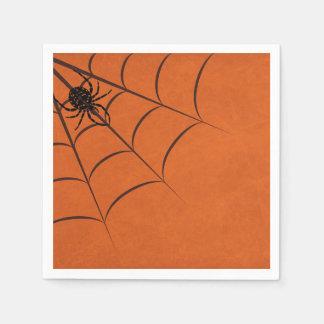 Servilletas Desechables Web de araña minimalista
