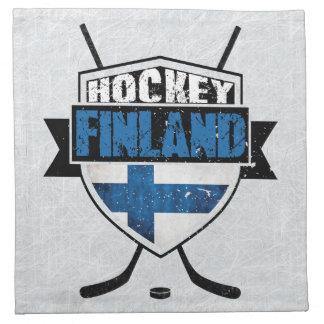 Servilletas finlandesas de Suomi del escudo del