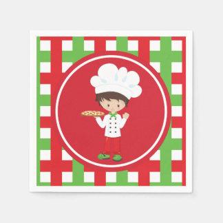 Servilletas italianas de la diversión de la comida servilleta de papel