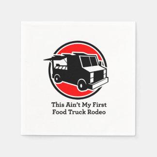 """Servilletas rodeo del camión de la comida"""" del servilletas de papel"""