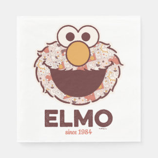 Sesame Street el | Elmo desde 1984 Servilleta Desechable