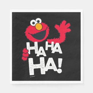 ¡Sesame Street el | Elmo - ha ha ha! Servilleta De Papel