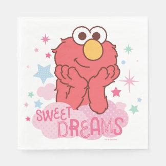Sesame Street el | Elmo - sueños dulces Servilleta Desechable
