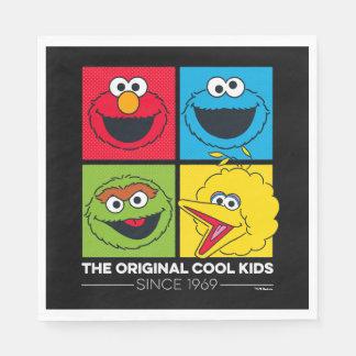 Sesame Street el | los niños frescos originales Servilletas Desechables