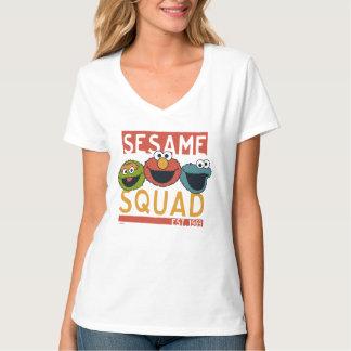 Sesame Street - pelotón del sésamo Camiseta