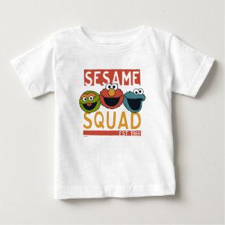 Sesame Street - pelotón del sésamo Camiseta De Bebé