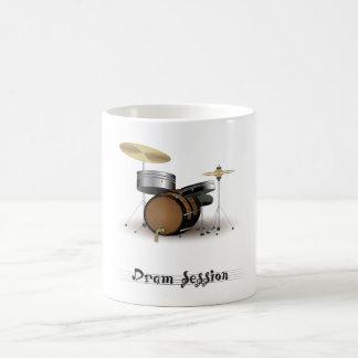 Sesión de la copita taza de café