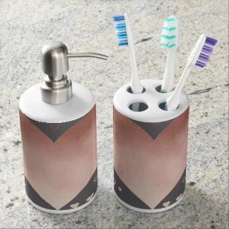 Set De Baño falso modelo color de rosa moderno elegante de los
