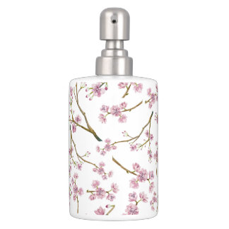 Set De Baño Impresión de la flor de cerezo de Sakura
