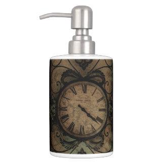 Set De Baño Reloj de pared antiguo gótico del vintage