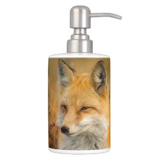 Set De Baño sistema del cuarto de baño del zorro, tenedor del
