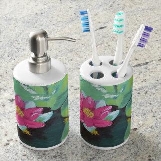 """Set De Baño """"Tenedor del cepillo de dientes de los cojines de"""