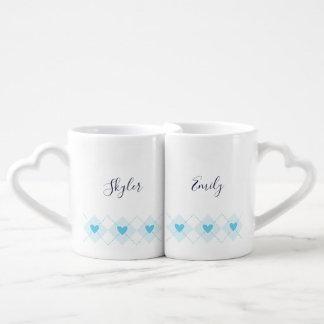 Set De Tazas De Café Argyle precioso