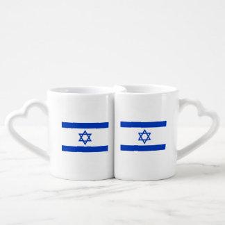 Set De Tazas De Café Bandera de Israel