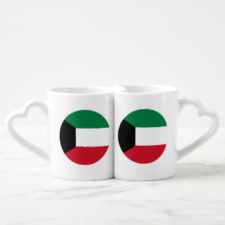 Set De Tazas De Café Bandera de Kuwait