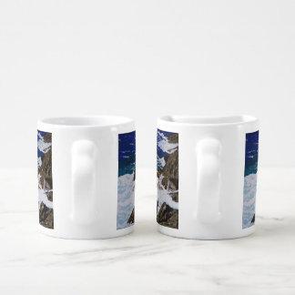Set De Tazas De Café Caídas costeras