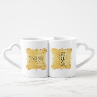 Set De Tazas De Café Dos son mejores de uno