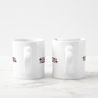 Set De Tazas De Café Hasta muerte