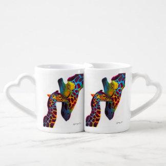 Set De Tazas De Café Jirafa