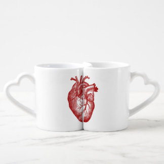 Set De Tazas De Café Los corazones del amante