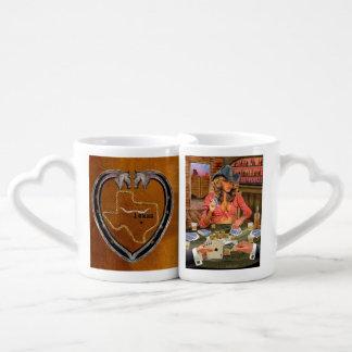 Set De Tazas De Café Orgullo de Tejas