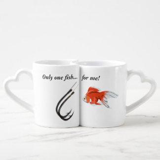 Set De Tazas De Café Solamente un pescado para mí