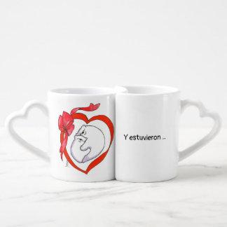 Set De Tazas De Café tasas para parejas enamoradas