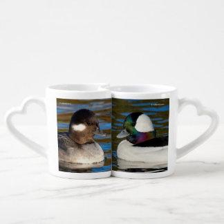 Set De Tazas De Café Uces par de Buffleheads