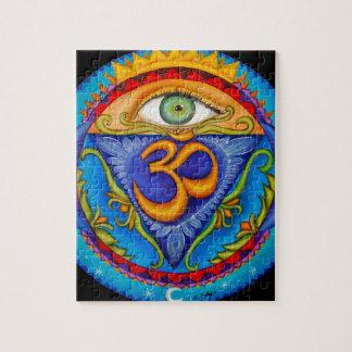 Sexto chakra, tercer ojo puzzle