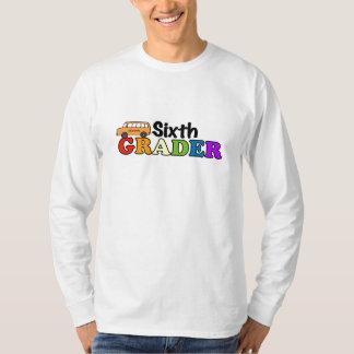 Sexto graduador camiseta
