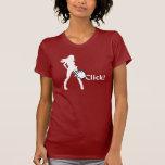 Sexy Click 2. T-Shirt Blanco Camisetas