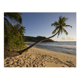 Seychelles, isla de Mahe, playa de Anse Takamaka, Postal
